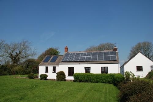 keeston solar installation