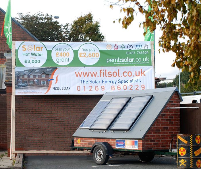 Pembsolar at the Haverfordwest Green Fayre