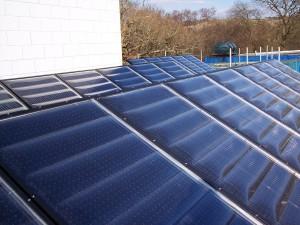 solar array at annedd